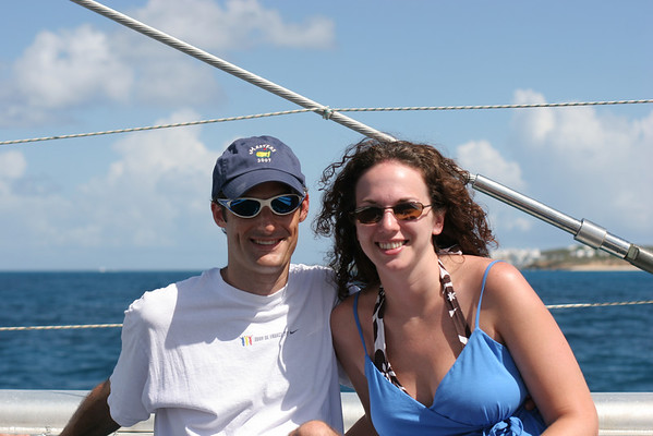 Sailing in St. Martin